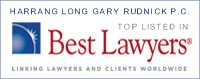 Harrang Long Gary Rudnick P.C., Top listed in Best Lawyers®